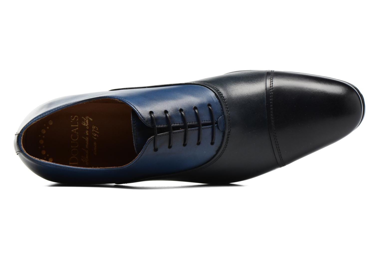 Chaussures à lacets Doucal's Omar short Noir vue gauche