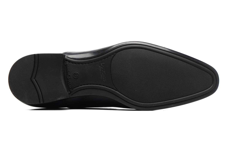 Chaussures à lacets Doucal's Omar short Noir vue haut