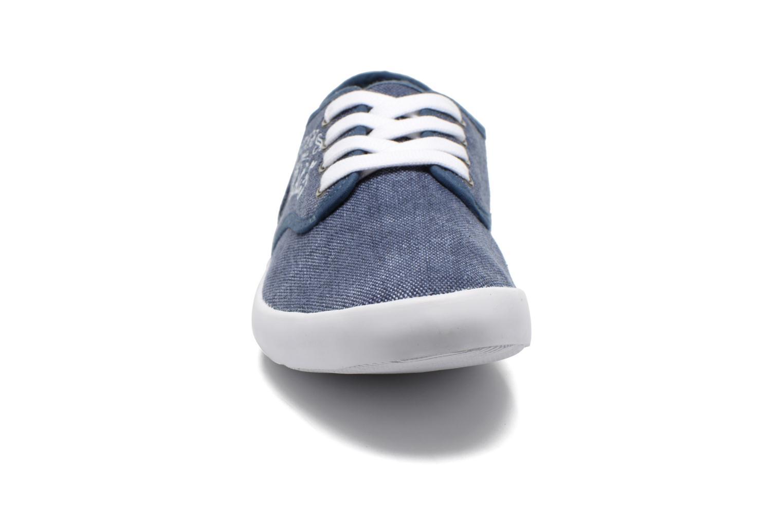Baskets Kaporal Draguy Bleu vue portées chaussures