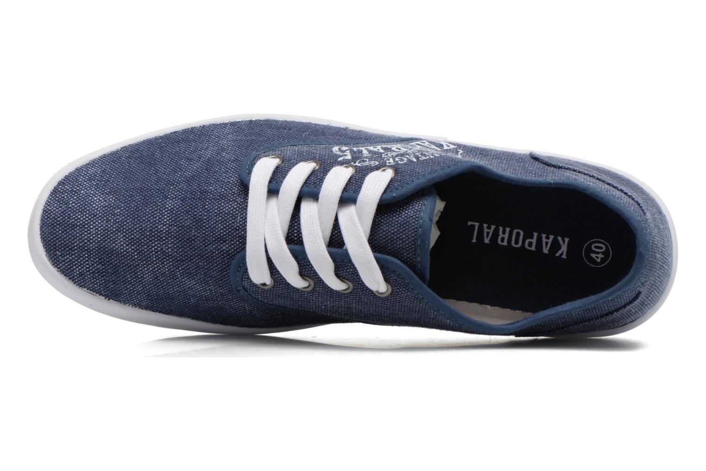 Sneaker Kaporal Draguy blau ansicht von links