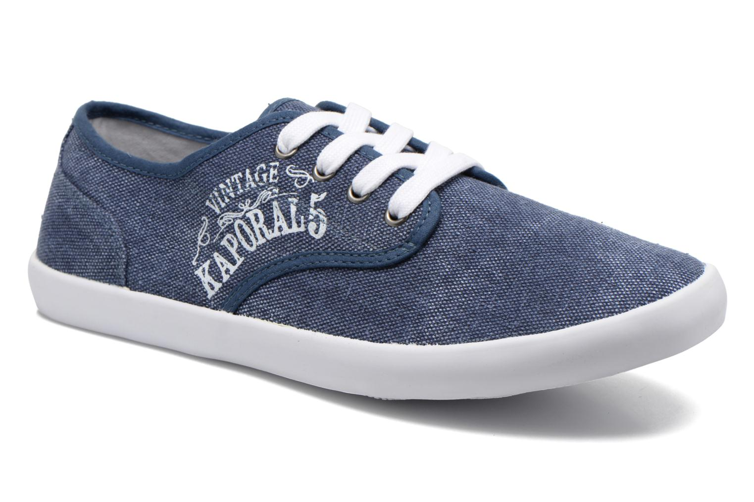 Trainers Kaporal Draguy Blue detailed view/ Pair view