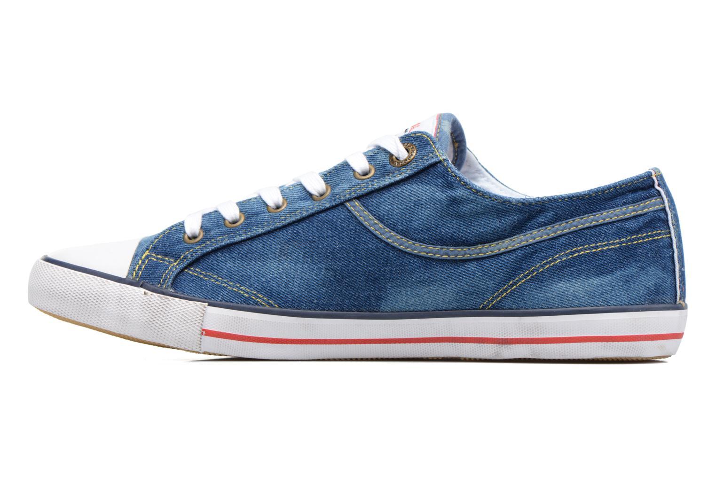Sneaker Kaporal Icare blau ansicht von vorne