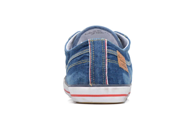 Sneaker Kaporal Icare blau ansicht von rechts