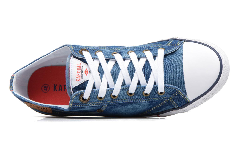 Baskets Kaporal Icare Bleu vue gauche