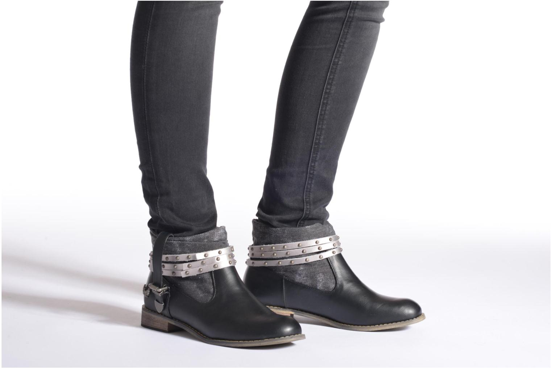 Stiefeletten & Boots Kaporal Bilow schwarz ansicht von unten / tasche getragen