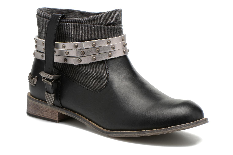 Zapatos promocionales Kaporal Bilow (Negro) - Botines    Descuento de la marca
