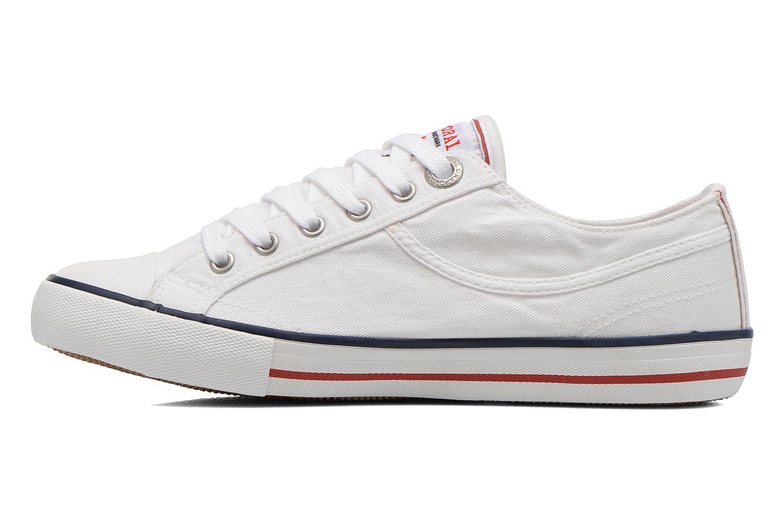 Sneakers Kaporal Icare W Hvid se forfra