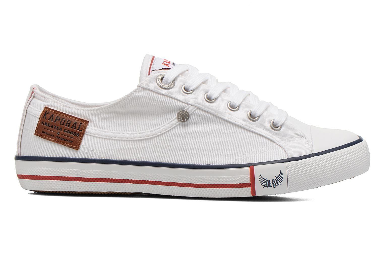 Sneakers Kaporal Icare W Hvid se bagfra