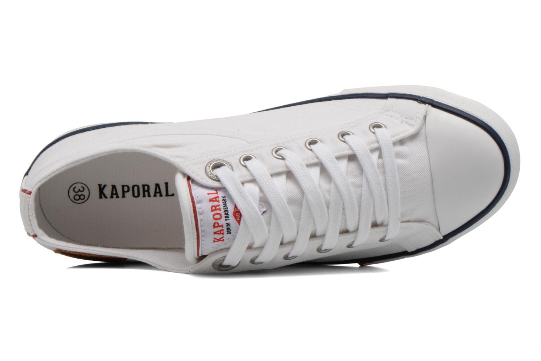 Sneaker Kaporal Icare W weiß ansicht von links