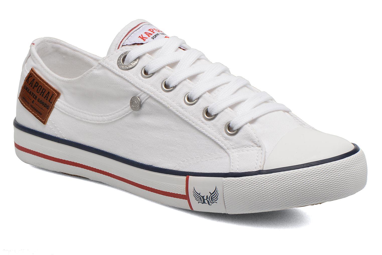 Sneakers Kaporal Icare W Hvid detaljeret billede af skoene