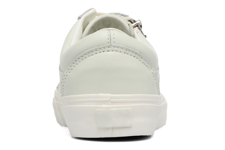 Sneakers Vans Old Skool Zip Grön Bild från höger sidan
