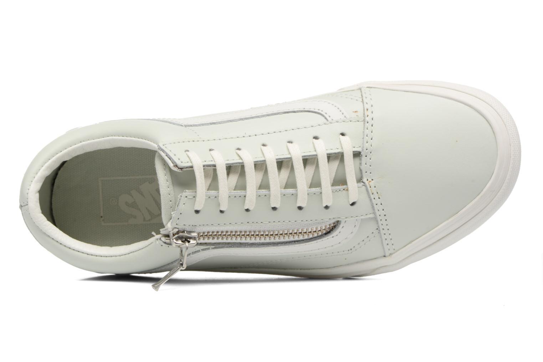 Sneakers Vans Old Skool Zip Grön bild från vänster sidan