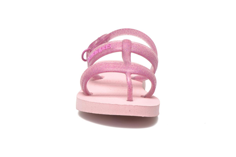 Sandales et nu-pieds Havaianas Kids Joy Rose vue portées chaussures