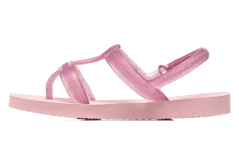 Sandals Havaianas Kids Joy Pink front view