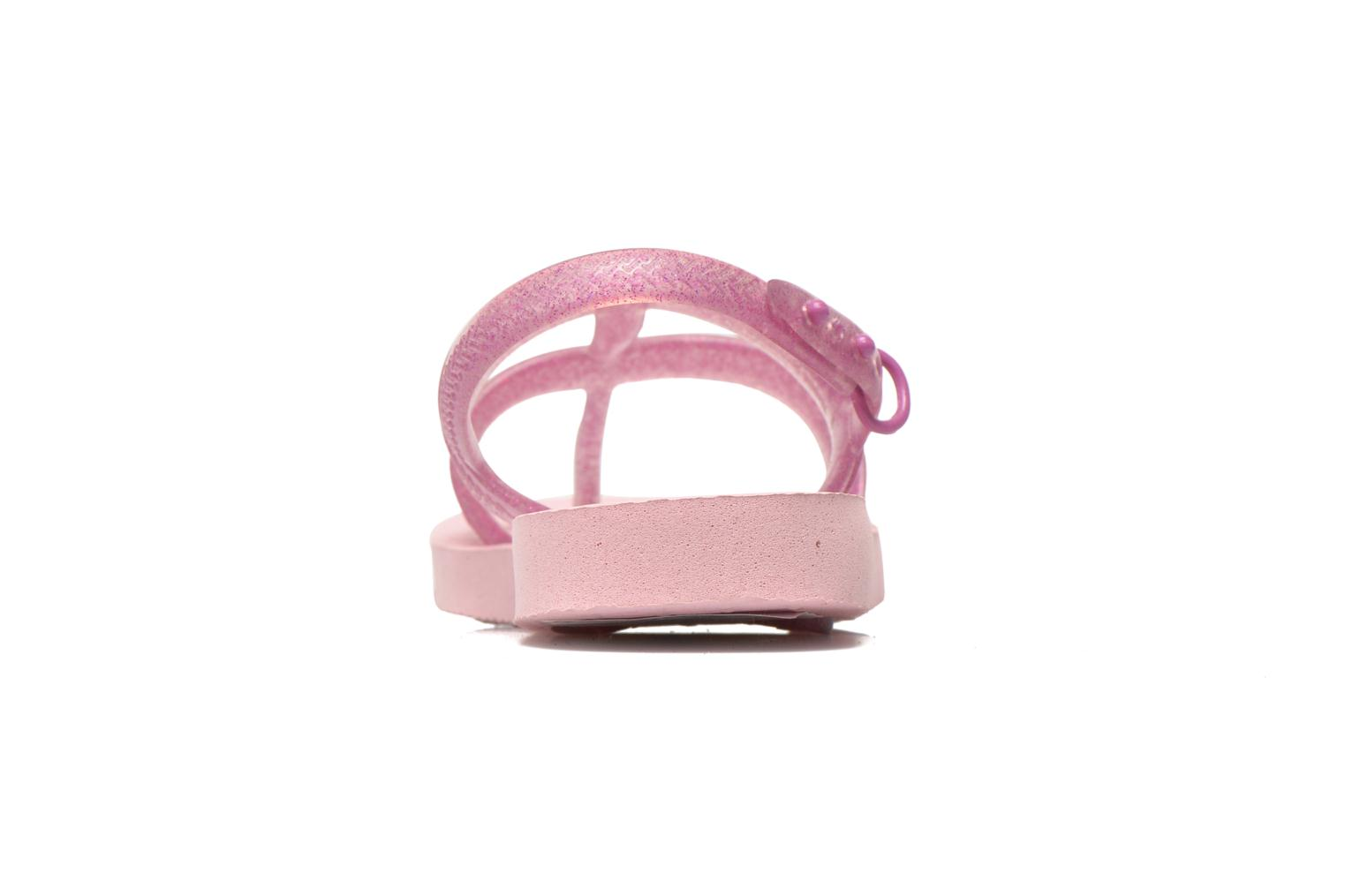 Sandals Havaianas Kids Joy Pink view from the right