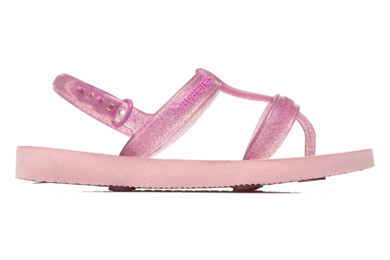 Sandals Havaianas Kids Joy Pink back view