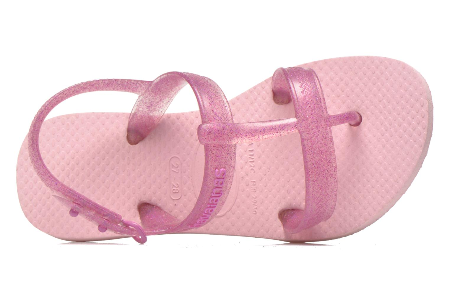 Sandals Havaianas Kids Joy Pink view from the left