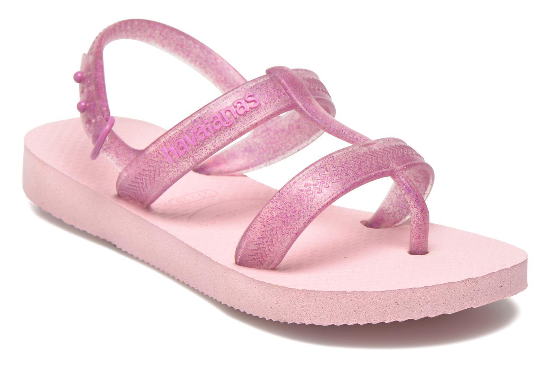 Sandales et nu-pieds Havaianas Kids Joy Rose vue détail/paire