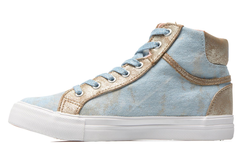 Sneaker Kaporal Amony blau ansicht von vorne