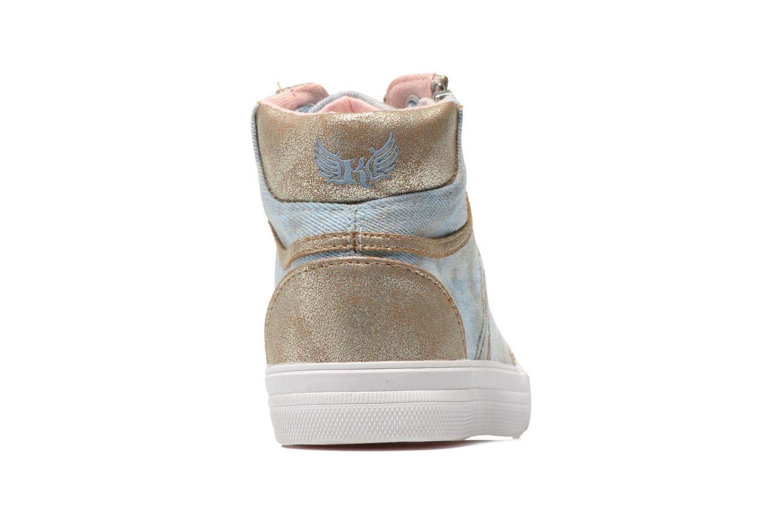 Sneaker Kaporal Amony blau ansicht von rechts