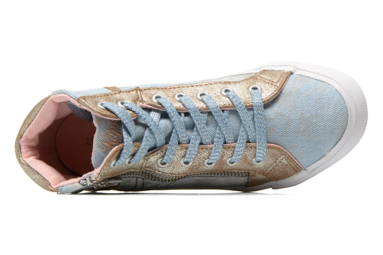 Sneaker Kaporal Amony blau ansicht von links