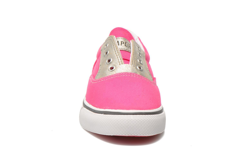 Baskets Kaporal Veliko Rose vue portées chaussures