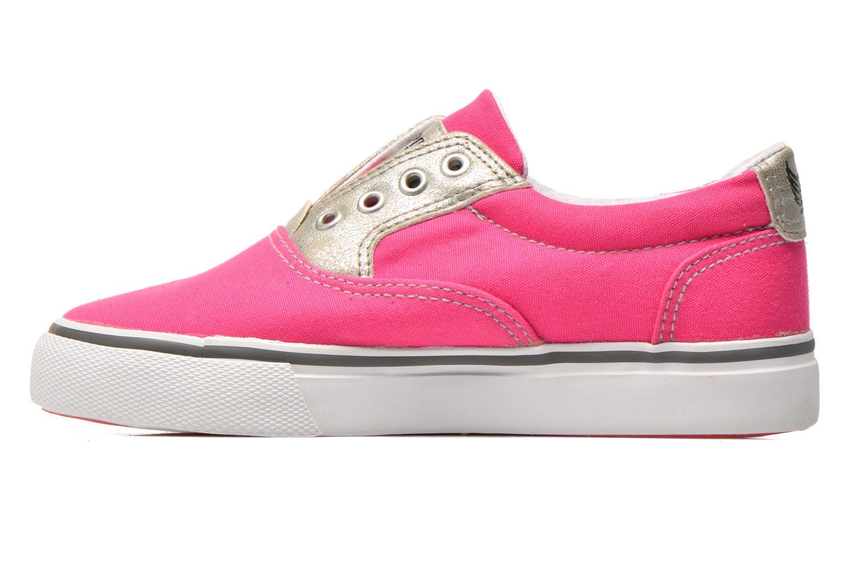 Sneakers Kaporal Veliko Pink se forfra