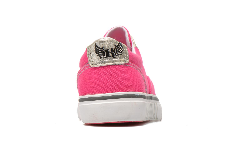 Sneaker Kaporal Veliko rosa ansicht von rechts
