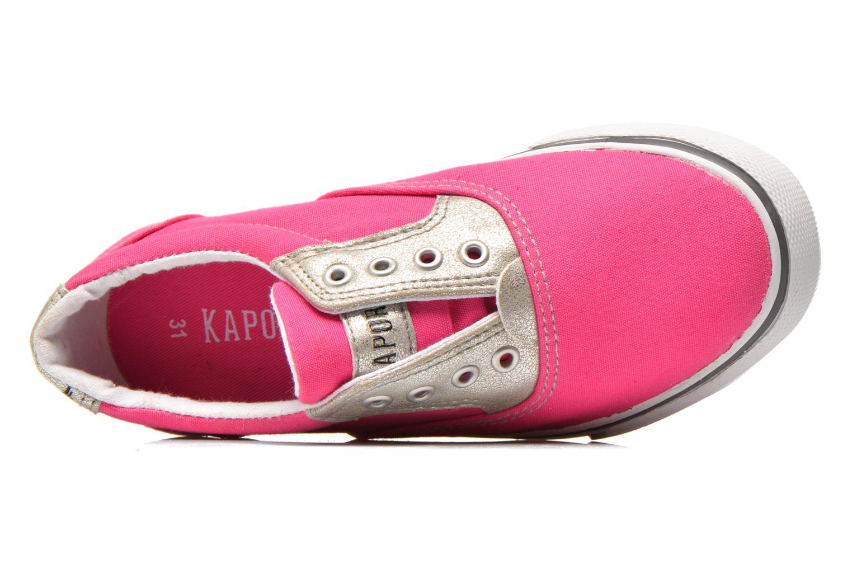 Sneakers Kaporal Veliko Pink se fra venstre