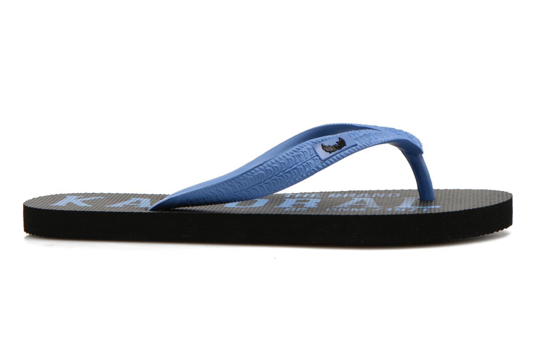 Slippers Kaporal Sulyvan Blauw achterkant