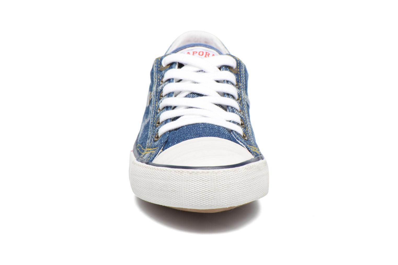 Baskets Kaporal Icario Bleu vue portées chaussures