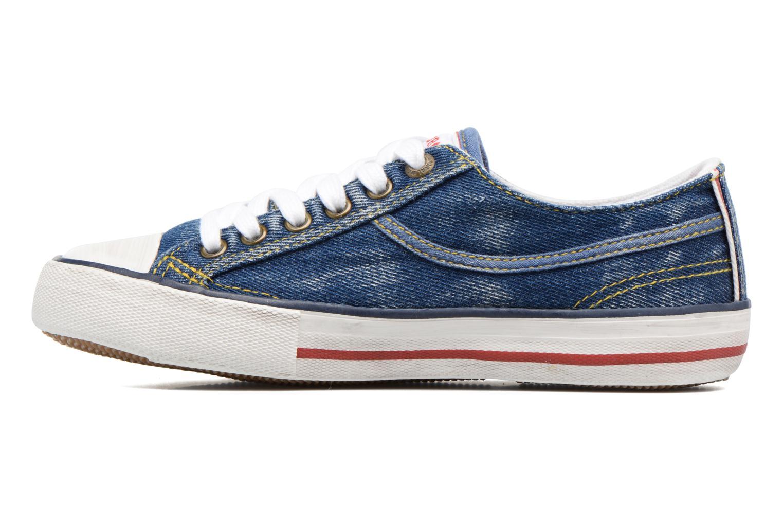 Sneaker Kaporal Icario blau ansicht von vorne