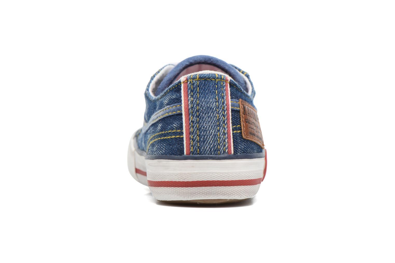 Sneaker Kaporal Icario blau ansicht von rechts