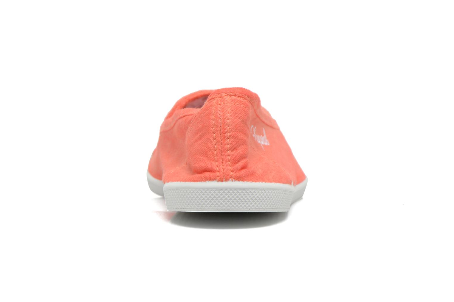 Ballet pumps Kaporal Vandane Orange view from the right