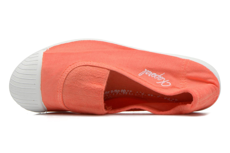 Ballerines Kaporal Vandane Orange vue gauche