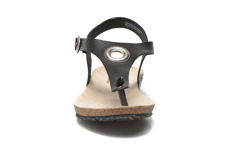 Sandales et nu-pieds TBS Inayah Noir vue portées chaussures