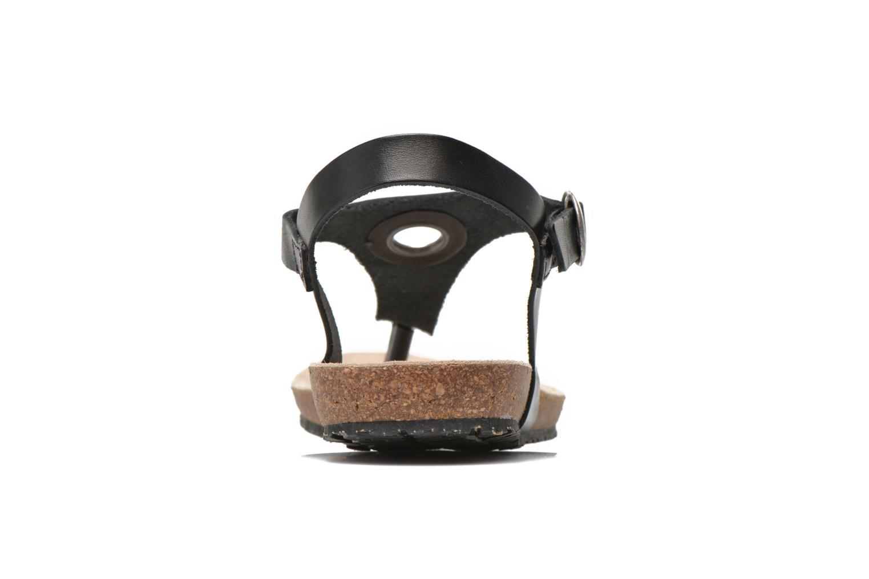 Sandales et nu-pieds TBS Inayah Noir vue droite
