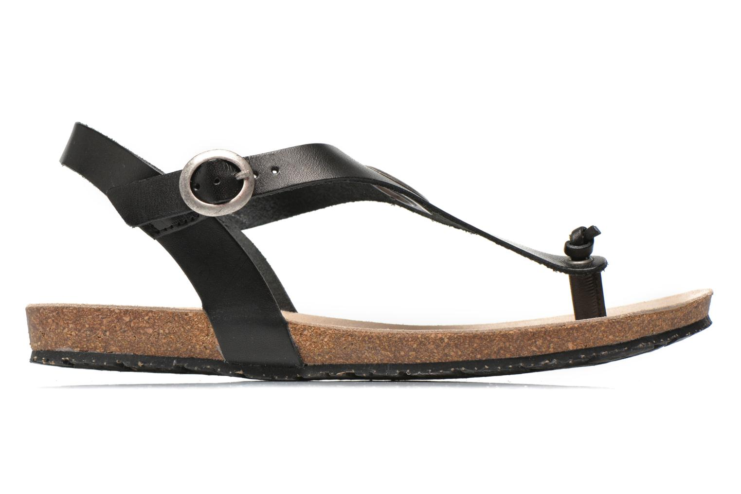 Sandals TBS Inayah Black back view