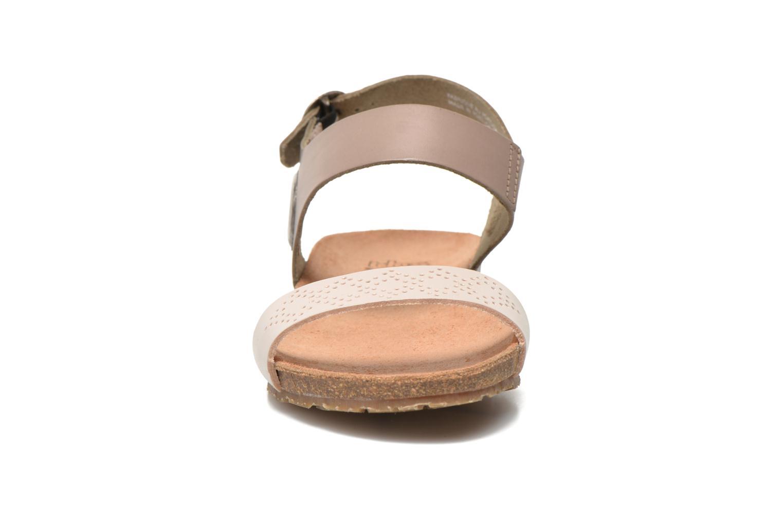 Sandales et nu-pieds TBS Isabel Beige vue portées chaussures