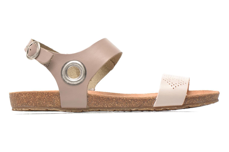 Sandales et nu-pieds TBS Isabel Beige vue derrière