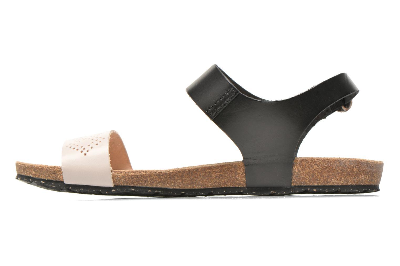 Sandales et nu-pieds TBS Isabel Multicolore vue face
