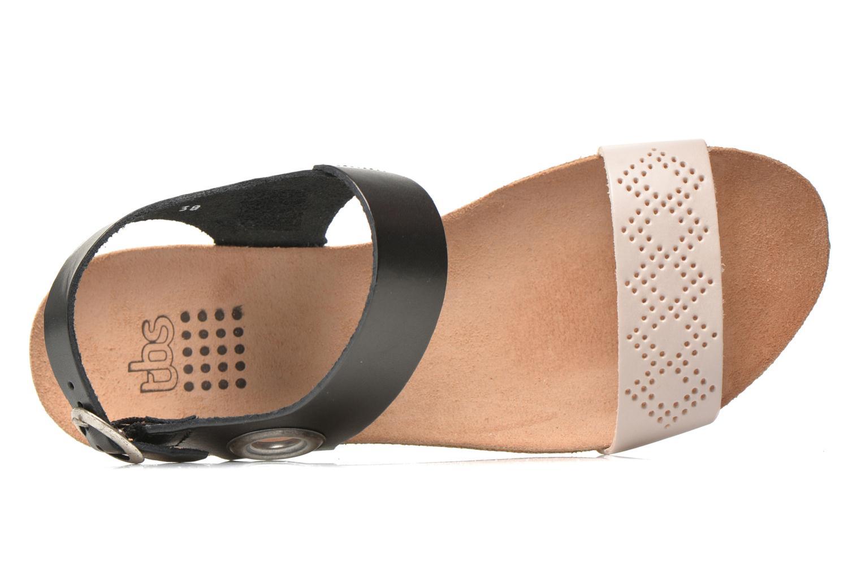 Sandales et nu-pieds TBS Isabel Multicolore vue gauche