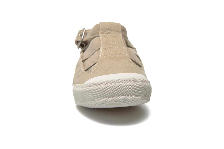Baskets TBS Oriele Beige vue portées chaussures