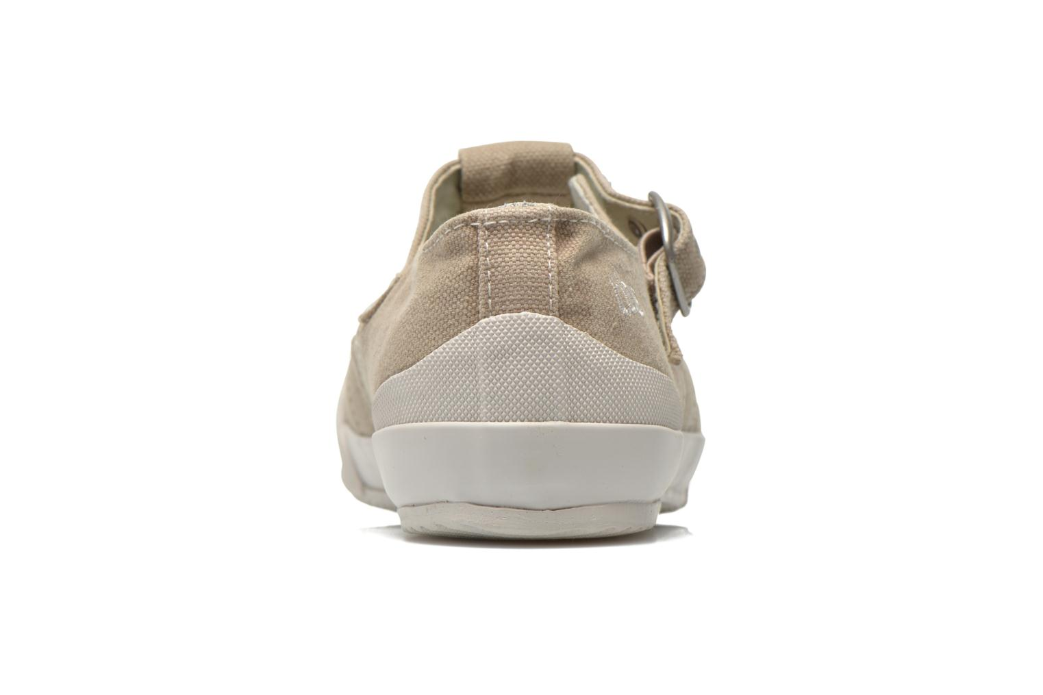 Trainers TBS Oriele Beige view from the right