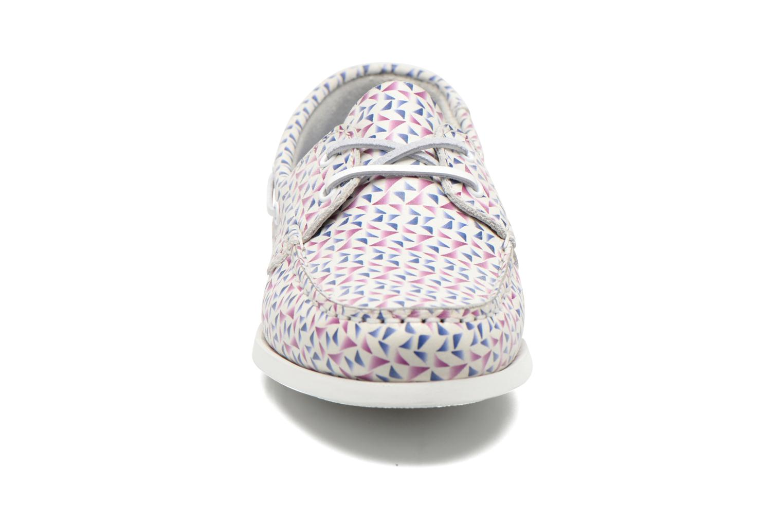 Chaussures à lacets TBS Pietra Multicolore vue portées chaussures