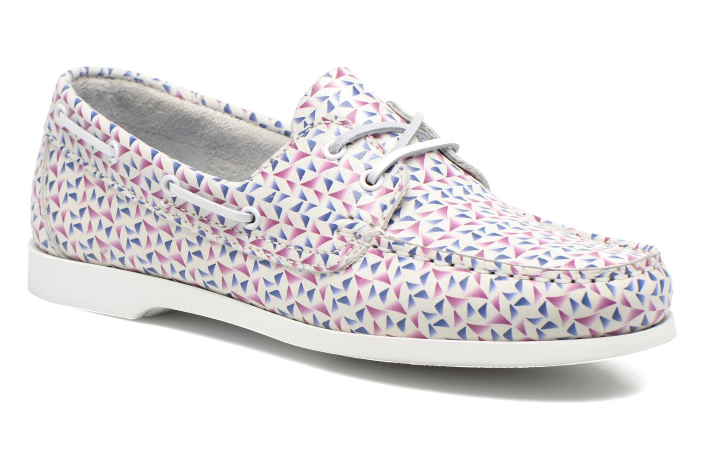 Chaussures à lacets TBS Pietra Multicolore vue détail/paire