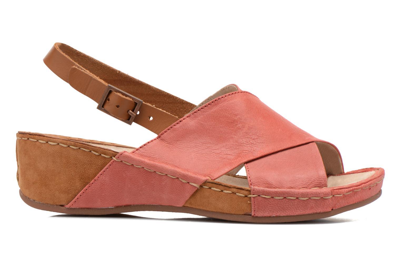 Sandales et nu-pieds TBS Valina Rouge vue derrière