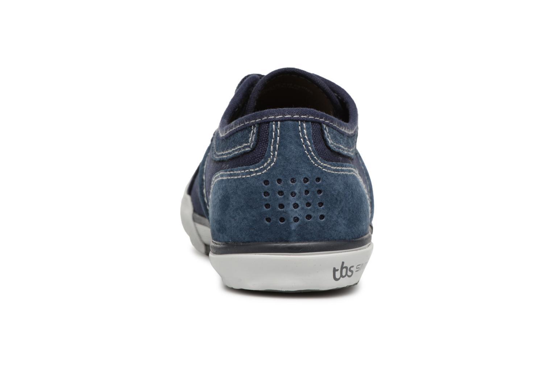 Sneakers TBS Edgard Azzurro immagine destra