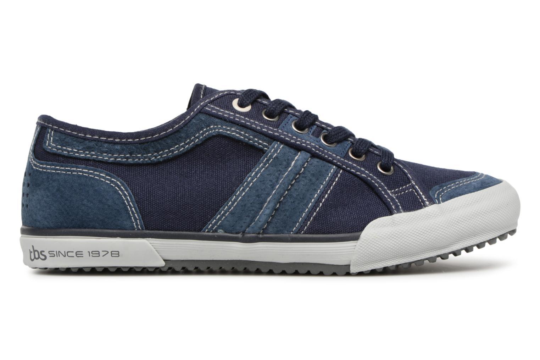 Sneakers TBS Edgard Azzurro immagine posteriore