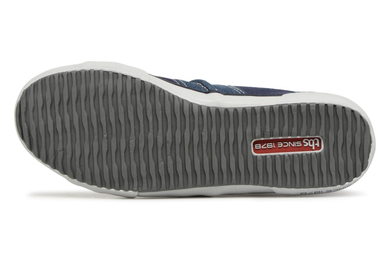 Sneakers TBS Edgard Azzurro immagine dall'alto